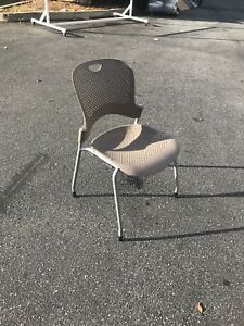 Caper Stacking Chair Molded Seat By Herman Miller