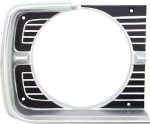 1968 Dodge Dart Headlamp Bezel Rh