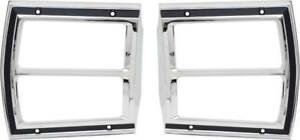 1969 Dodge Dart Tail Lamp Bezels