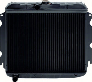 1967 69 Mopar A body Small Block V8 Automatic Trans 3 Row Replacement Radiator