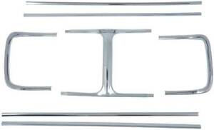 1969 Dodge Charger 7 Piece Grill Molding Set