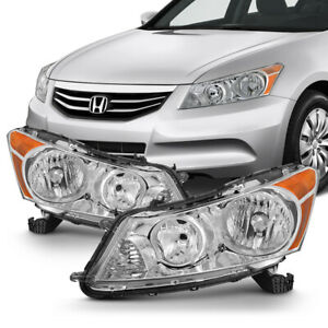 2008 2012 Honda Accord Sedan Lx Ex Factory Style Headlights Replacement Pair