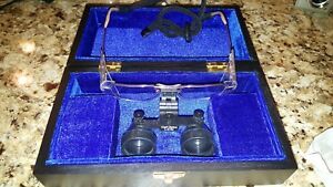 Zeiss Eyemag L 2 5x Dental Surgical Loupes W Hard Case