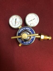 New Radnor By Harris Model 25 50 Psig Welding Regulator With Two Gauges
