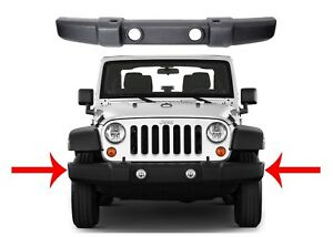 Replacement Front Bumper For 2007 2017 Jeep Wrangler Jk New Free Shipping
