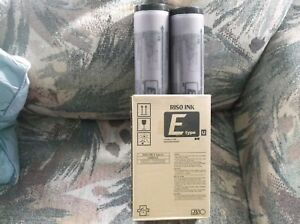 2 S7195 Burgandy Genuine Riso Ink Ez390 Mz790 Rz990 Rz1090 Me9450 Duplicator