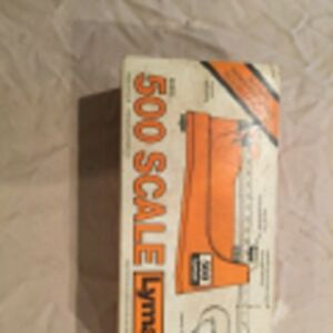 LYMAN 500 SCALE RELOADING EQUIPMENT HUNTING SPORT AMMO