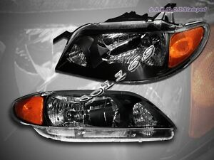 2001 2003 Mazda Protege Dx Es Lx Mp3 Black Headlights