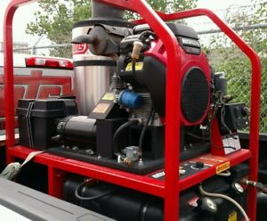 Hotsy 1270ssg Hot Water Gas Diesel 4 5gpm 4000psi Pressure Washer