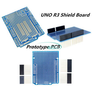 Prototype Pcb For Arduino Uno R3 Shield Board Diy With Pin 2 54mm Pitch