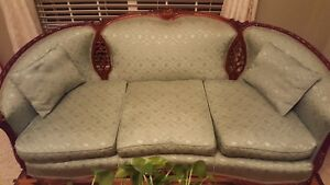 Antique 75 Wide Sofa And 32 Wide Chair