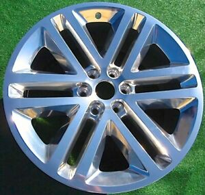 Factory Ford Spec Expedition Wheel Oem F150 Platinum Polished 22 3993 Fl1z1007b