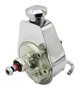 Performance Online Saginaw Power Steering Pump Chrome