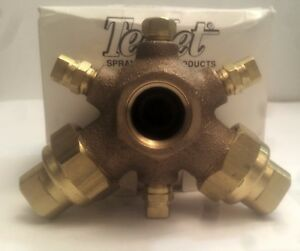 Teejet Boomjet Brass Boomless Nozzle Broadcast Covers 50 foot 5880 3 4 2toc20
