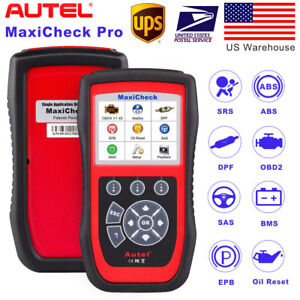 Autel Maxicheck Pro Obd2 Diagnostic Tool Code Reader Scanners Better Md802 Md805