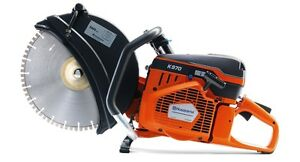 Husqvarna K970 16 Handheld Power Cutter blade Not Included Free Shipping