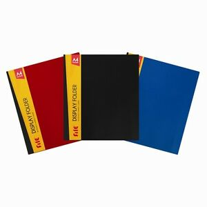 A4 Display Book 40 Pockets 80 View File Cover Anti glare Presentation Folder Dw