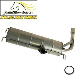 Stainless Steel Exhaust Muffler Tail Pipe Fits 2001 2005 Toyota Rav4