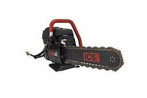 Ics 695xl Gc 12 Concrete Utility Pipe Gas Chainsaw Guidebar Twinmax Chain