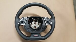 2016 2017 Chevrolet Camaro Ss Leather Wrapped Steering Wheel Manual Car Gm Oem