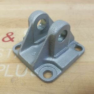 Smc Ca2 d08 Double Clevis Cast Stainless Steel For 80mm Bore Cylinder Used