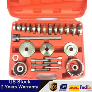 31pcs Bearing Removal Tool Fits Audi Vw Bmw Front Wheel Drive Bearing Removal