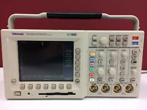 Tektronix Tds3054 Oscilloscope Dpo 500mhz 5gs s 4ch With Fft 3fft 3trg
