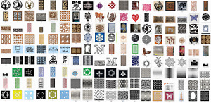1000 Cnc Vector Dxf Art File Ready To Cut catalog B
