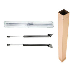 2x Tailgate Hatch Lift Supports Shock Struts For Jeep Grand Cherokee Zj Zg 93 98