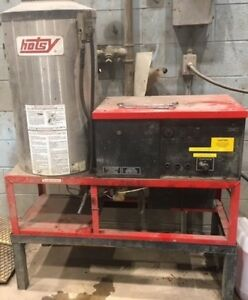 Used Hotsy 992ss 3ph Natural Gas 4gpm 2000psi Hot Water Pressure Washer