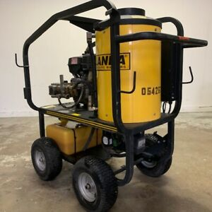Used Landa Mvc4 Gas diesel 3 5gpm 3000psi Hot Pressure Washer Only 52 Hours