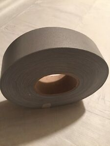 2 x100yard Roll Silver Reflective Tape Fabric Sew On 2 Ccc dot c2