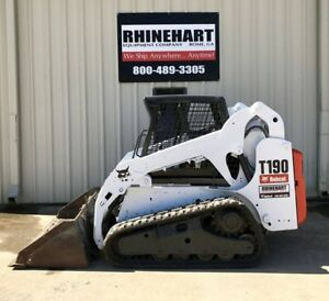 2010 Bobcat T190 Skid Steer