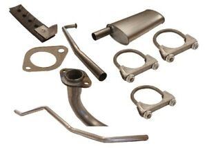 Complete Exhaust Kit Fits Willys L 226 Wagon Sedan Delivery 54 64