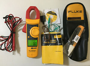Used Fluke 902 True Rms Hvac Clamp Meter Great Working Condition Tp 217167 Nice