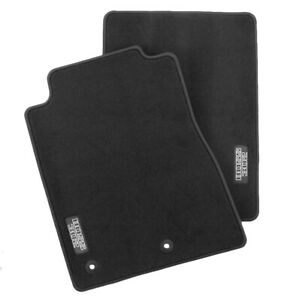 2005 2012 Genuine Ford Mustang Boss 302 Charcoal Black Front Floor Mats