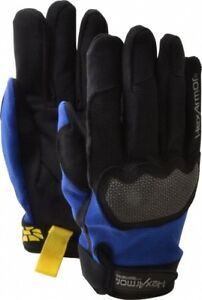 Hexarmor Mechanic s Gloves 4018 Ultimate L5 Ansi Cut Level A6 Size 10 Xl