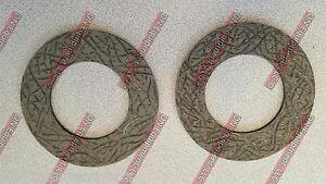 King Kutter 147122 Friction clutch Disc For Tiller New Replacement Set Of 2