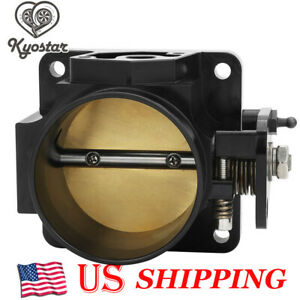 75mm Throttle Body Performance Billet For 86 93 Ford Mustang Gt Cobra Lx 5 0 Sl