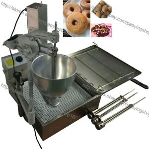 7 5l Electric Automatic Donut Ball Doughnuts Machine Maker Fryer With 3 Mold
