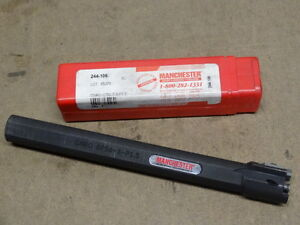 New Manchester 244 106 3 4 0 750 Internal Threading Bar Fixed Pocket With Clamp