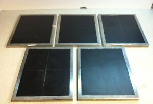 Qty5 Lot Spectronics Spectroline 4 Square Autoradiography X ray Cassettes 8 x10