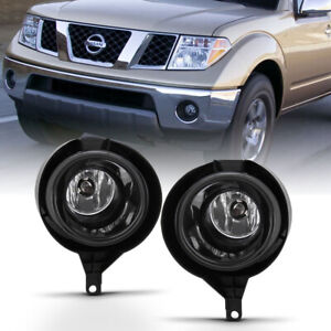 For 05 16 Nissan Frontier Replacement Bumper Fog Light Driving Lamp With Switch