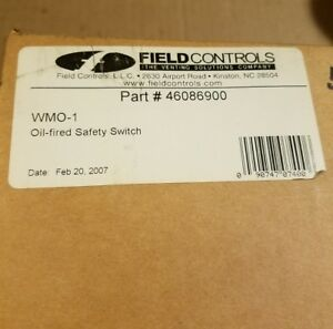 Field Controls Wmo 1 Oil Fired Safety Switch Part 46086900
