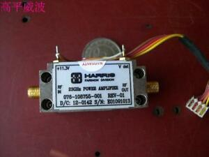 1pc Used Good Harris 076 108755 001 23ghz Power Amplifier