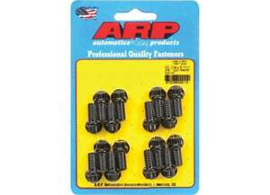 Arp 100 1202 Big Block Chevy Ford 3 8 16 12 Point Black Header Bolts Sbf