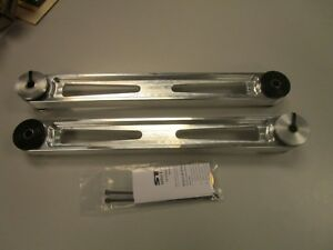Steeda Mustang Billet Rear Lower Control Arms Poly Ends 05 14 555 4405