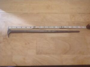 Snap On Tools Rolling Head 16 Long Pry Bar 1650 Usa