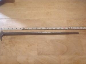 Snap On Tools Rolling Head 20 Long Pry Bar 2050 Usa