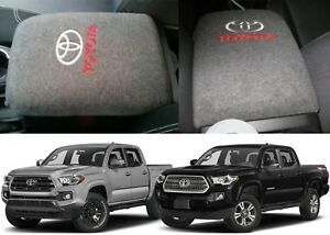 Grey Fleece Console Cover For 2016 2018 Toyota Tacoma New Free Shipping Usa